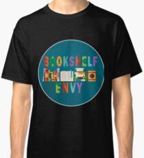 Book Shelf Envy- White Border Classic T-Shirt