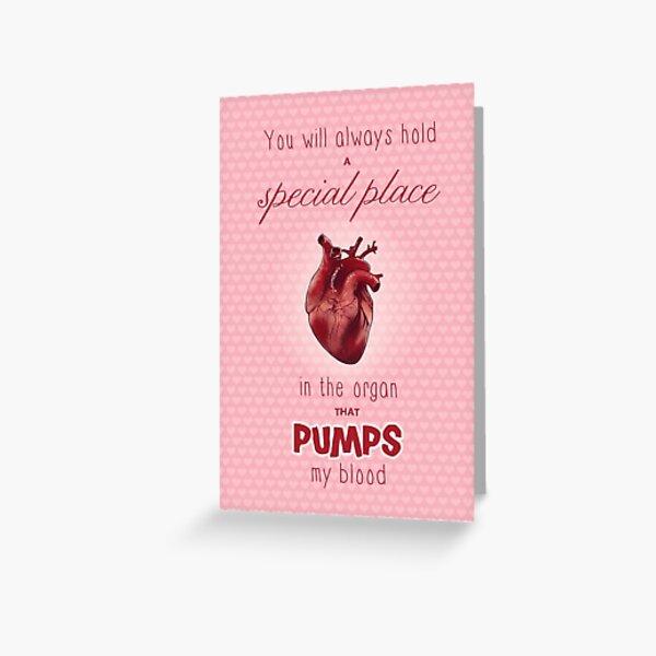 Eskas Valentine Grußkarte