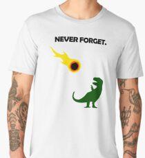Never Forget (Dinosaurs) Men's Premium T-Shirt