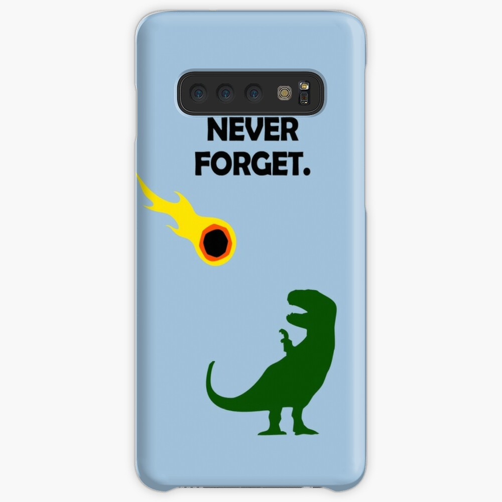Never Forget (Dinosaurs) Case & Skin for Samsung Galaxy