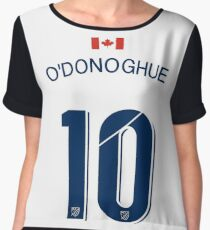 93. Colin O'Donoghue on Whitecaps Charity Game Women's Chiffon Top
