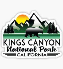 Kings Canyon National Park California Sticker