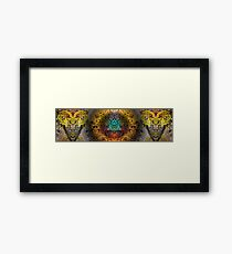 Buddha Buddies Framed Print