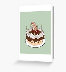 Happy Chestburster Birthday Greeting Card