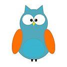 An Cute Owl by ikshvaku