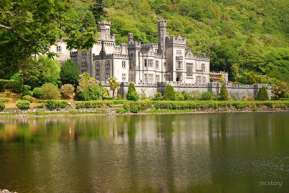 Kylemore Abbey 1 by Mary Carol Story