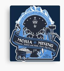 Mines of Moria Canvas Print