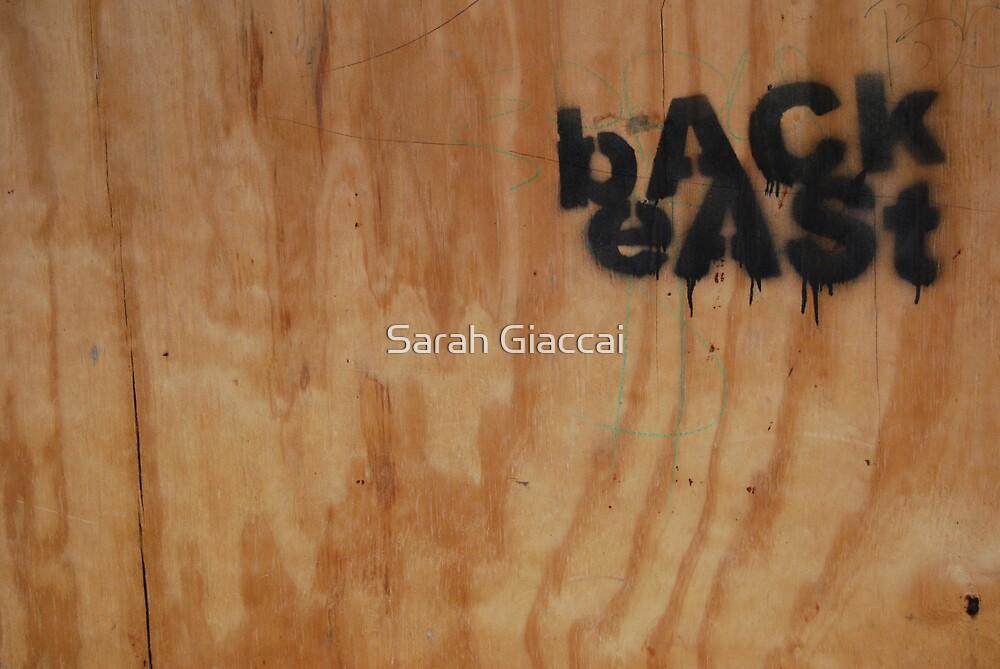 Back East by Sarah Giaccai