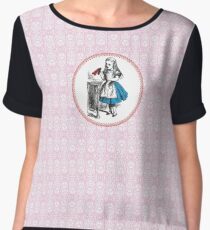 Alice in Wonderland | Drink Me Chiffon Top