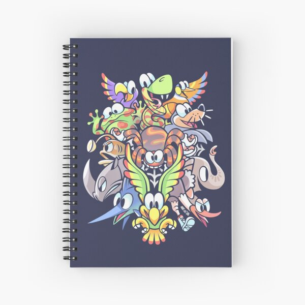 Who's Your Buddy? Spiral Notebook