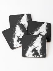 Abyss Warrior Coasters
