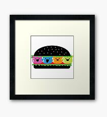 Halloween - Lunch Time with Mochi and Friends Framed Print