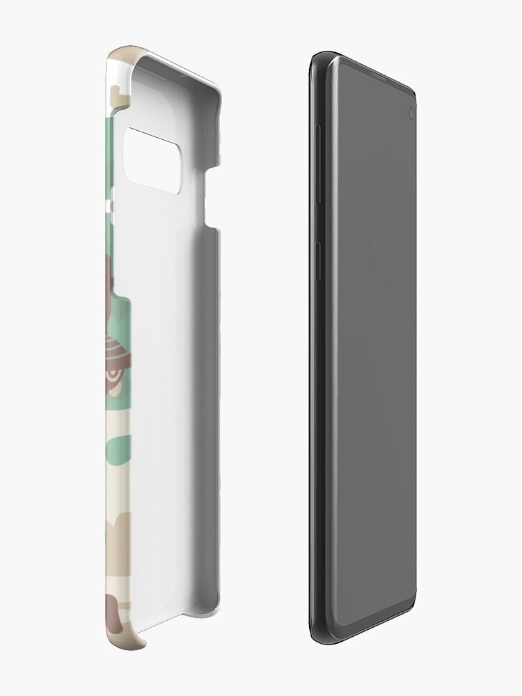 Alternative Ansicht von Holz Eule Holz Hüllen & Klebefolien für Samsung Galaxy