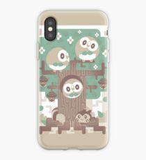 Vinilo o funda para iPhone Wood Owl Woods