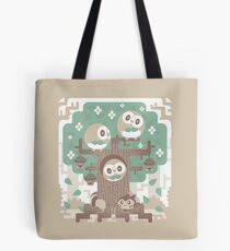 Wood Owl Woods Tote Bag
