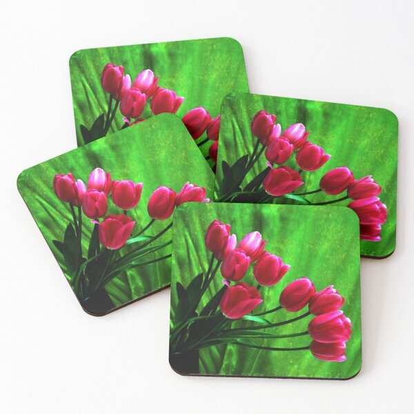 In the Pink Coasters (Set of 4)