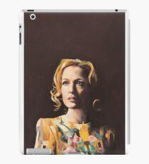 Gillian Anderson Hummingbird Dress Original Painting iPad Case/Skin
