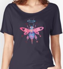Bee -  Acrylic Painting Women's Relaxed Fit T-Shirt
