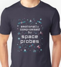 Emotionally Compromised by Space Probes T-Shirt