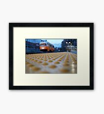 Trolley Time Framed Print