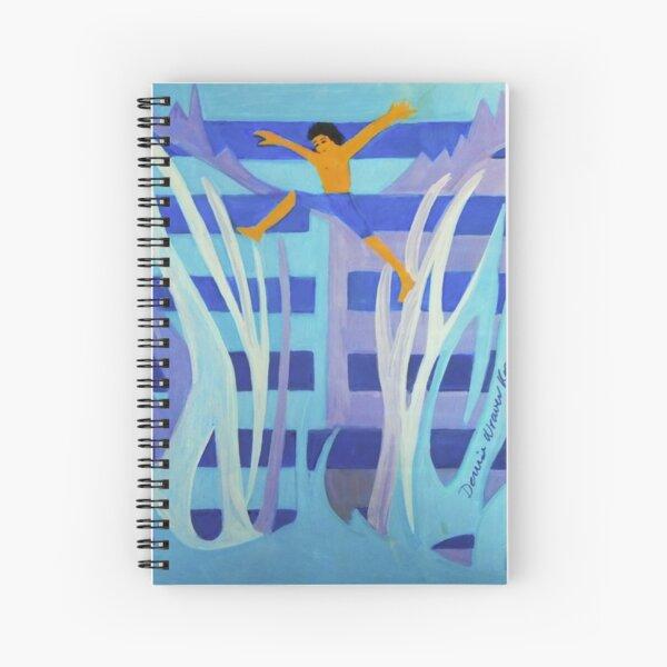 Hexagram 4: Mêng (Youthful Folly)  Spiral Notebook