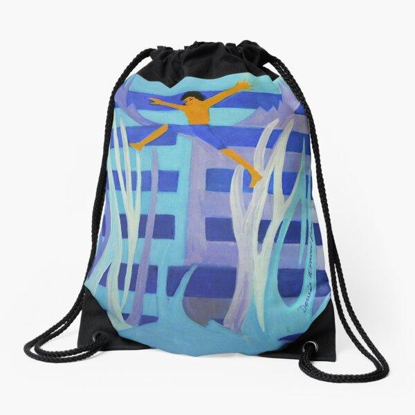 Hexagram 4: Mêng (Youthful Folly)  Drawstring Bag