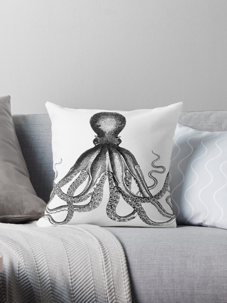 Octopus | Black and White by EclecticAtHeART