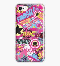 Comic Freak (Pink) iPhone Case/Skin