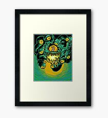 Dungeons, Dragons and Dice • Beholder Framed Print
