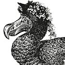 Mrs Dodo   Vintage Dodos   Black and White    by EclecticAtHeART