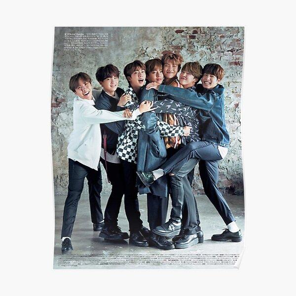 BTS CUTE ASS POSTER Poster