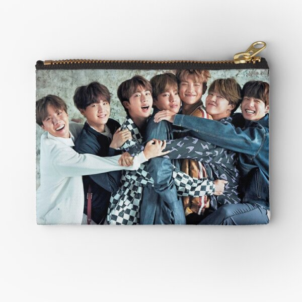 BTS CUTE ASS POSTER Zipper Pouch