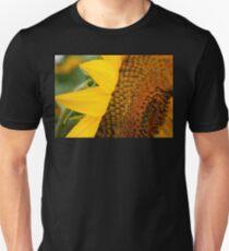 Sunflower Curl Macro T-Shirt