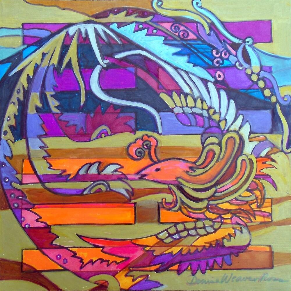 Hexagram 22: Pi (Grace) by Denise Weaver Ross