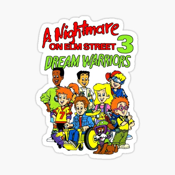 DREAM WARRIORS BURGER KING KIDS MASH UP Sticker