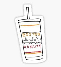 Boston Donuts Sticker