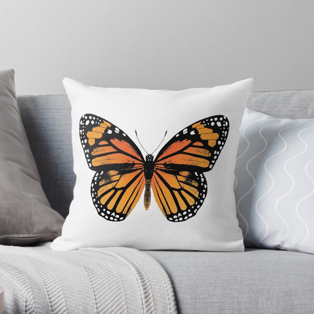 Monarchfalter | Vintage Schmetterlinge | Dekokissen