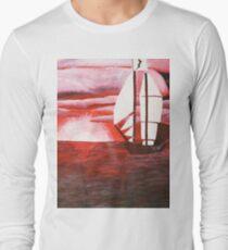 Calm before the Sea Long Sleeve T-Shirt