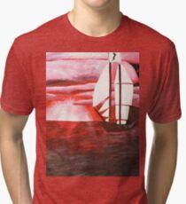Calm before the Sea Tri-blend T-Shirt