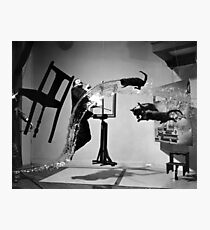 Dali Atomicus by  Philippe Halsman, 1948 Photographic Print