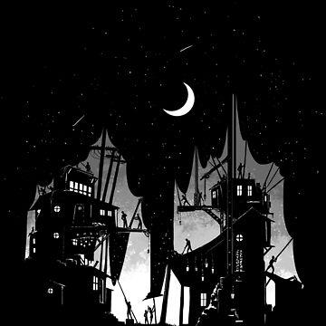 Nightfall by AlanBaoArt