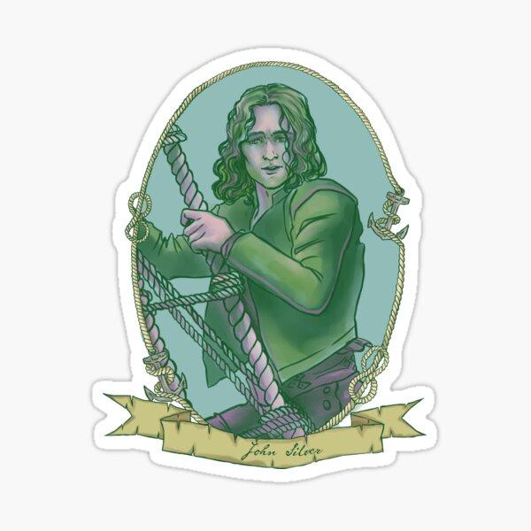 John Silver Sticker