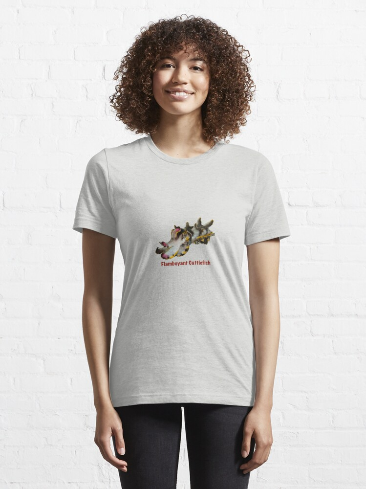 Alternate view of Flamboyant Cuttlefish Essential T-Shirt