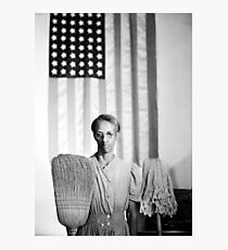 American Gothic by Gordan Parks, 1942 Photographic Print