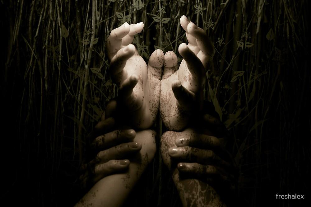Three Generations Of Hands by freshalex
