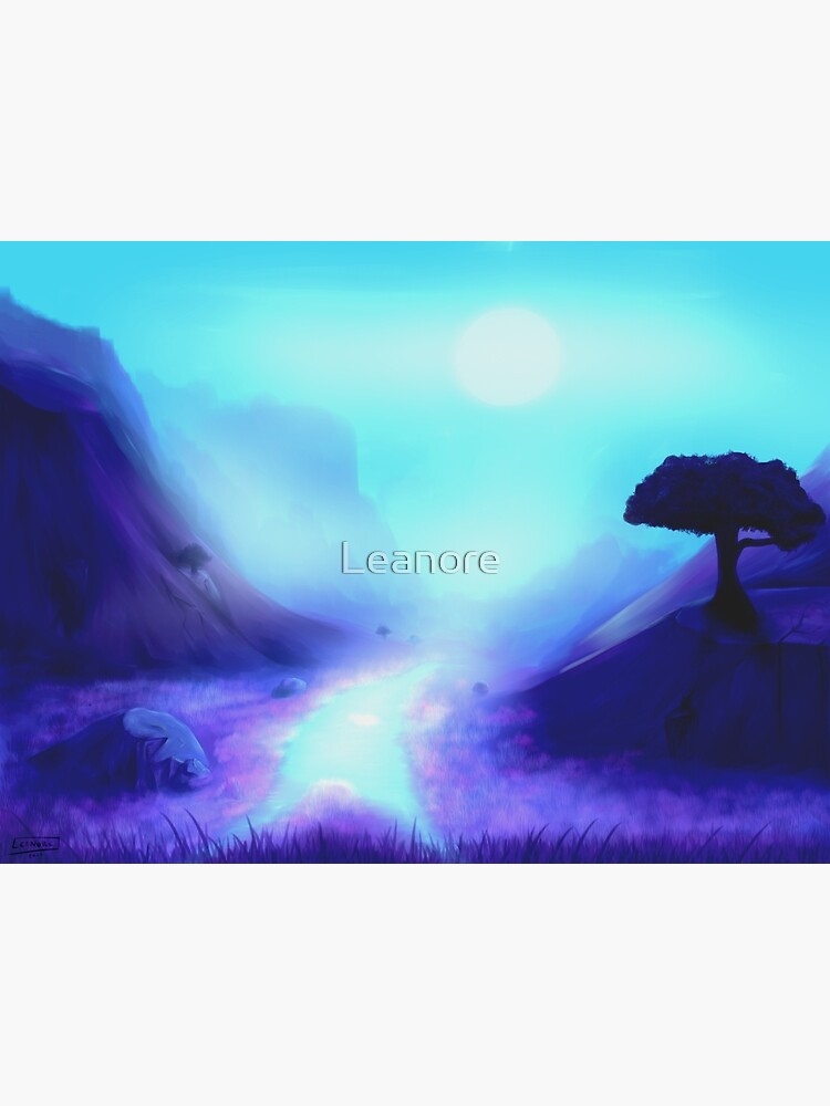 Mystical Twilight Landscape by Leanore