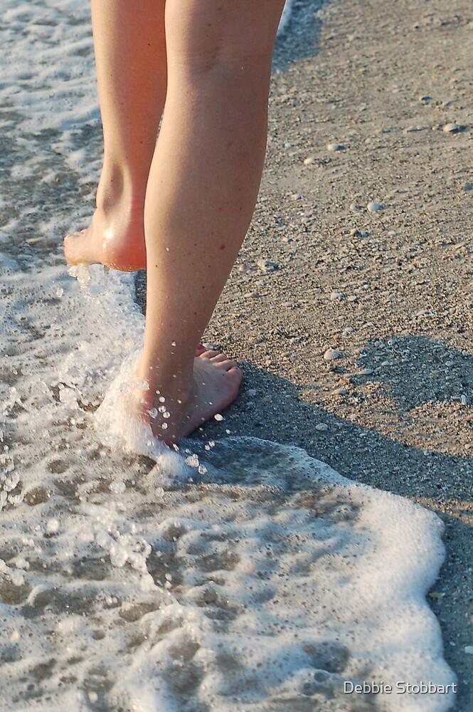 Beach Walk by Debbie Stobbart
