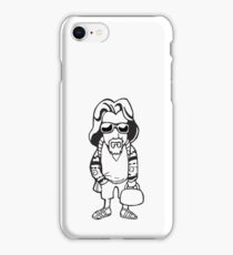 The Dude Abides Still iPhone Case/Skin
