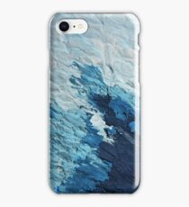 Blue as the Sea V2 iPhone Case/Skin