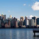 Downtown NYC Skyline by Louis Galli